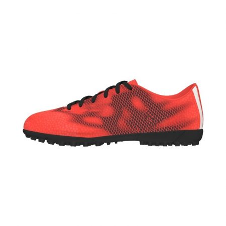 Adidas F5 piros műfüves cipő